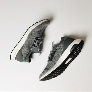 Adidas Grey Ultraboost Cageless Running Shoe 9